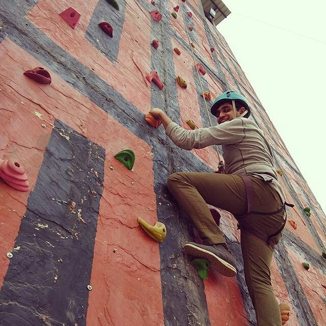 40ft wall climbing