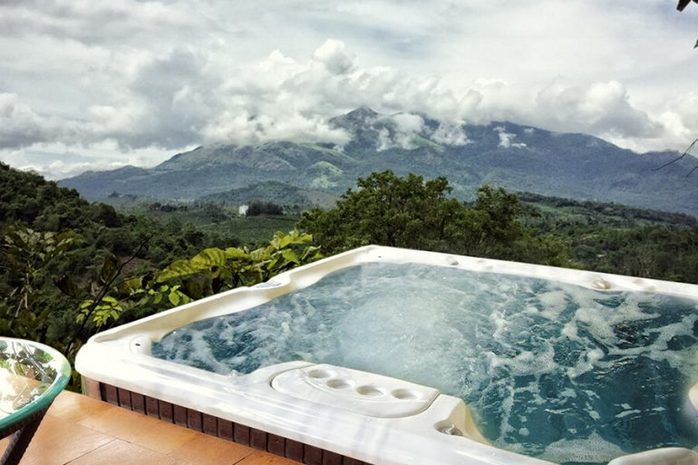Open Air Jacuzzi