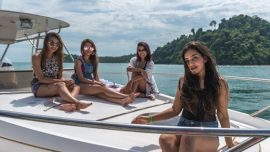 Hire a private boat and go island hopping