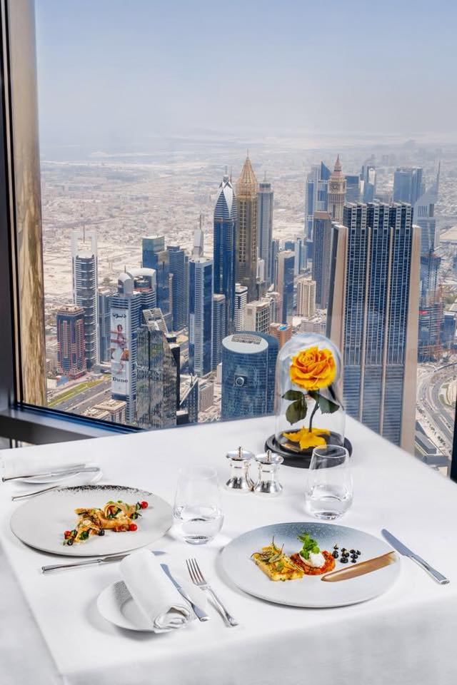 Credits: At.mosphere Burj Khalifa Facebook