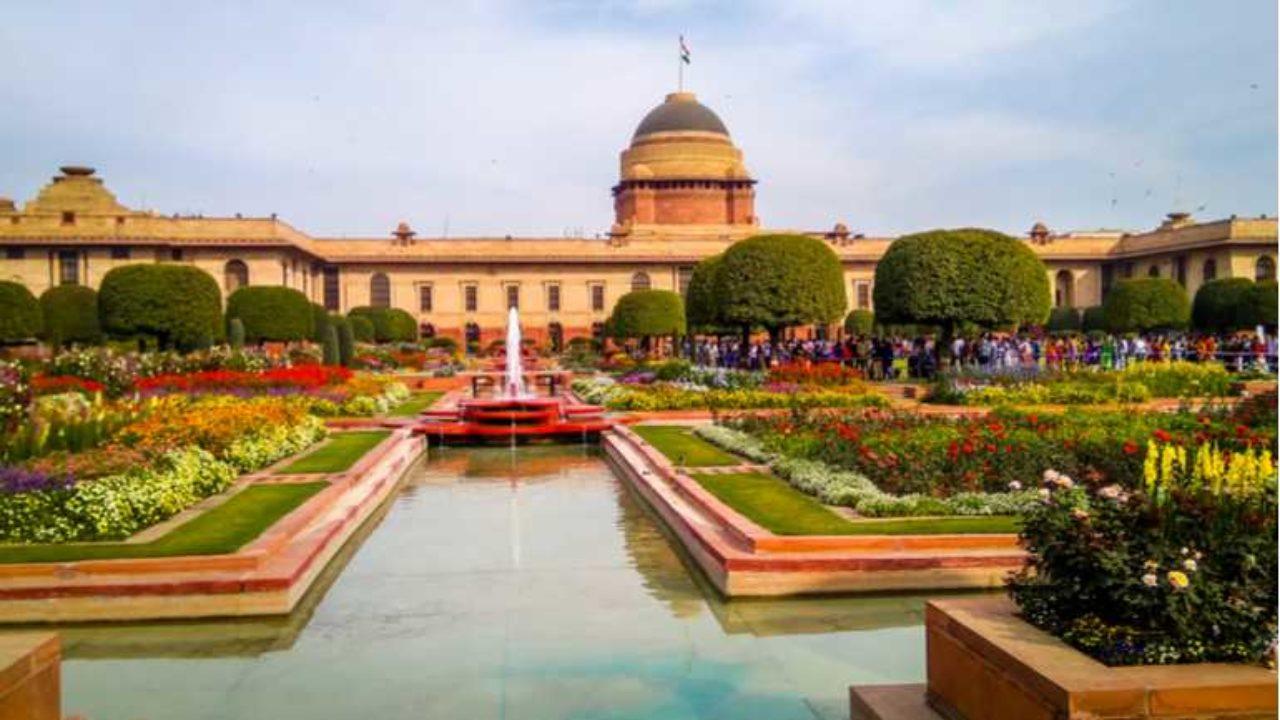 Rashtrapati Bhavan Mughal Gardens Opens For Public  Curly Tales