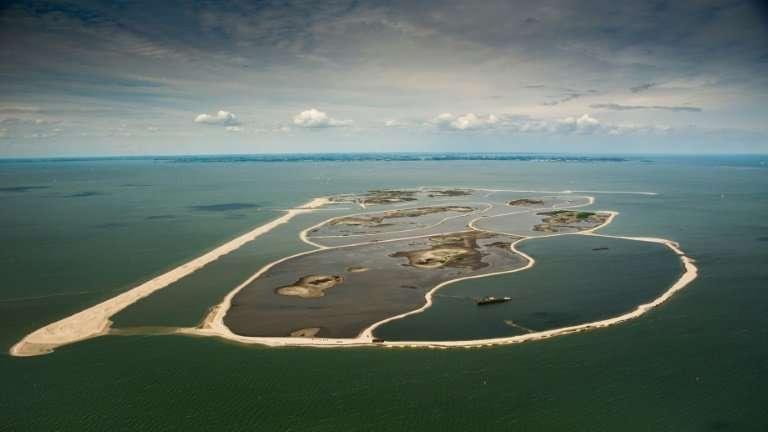 Netherlands artificial islands