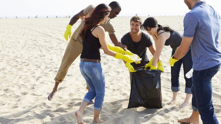 Beach cleaning - Goa