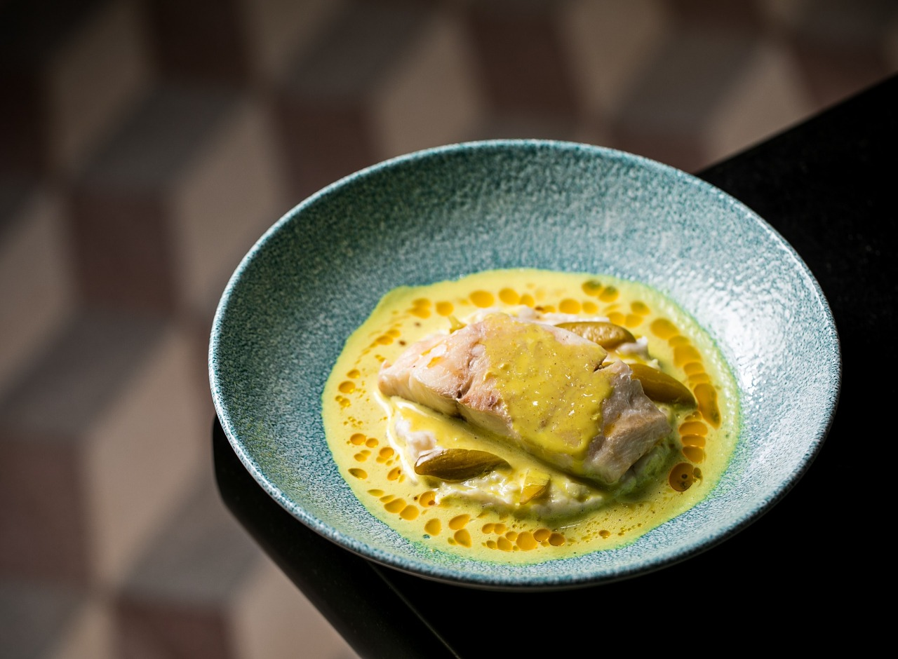 Fish with Moilee Foam