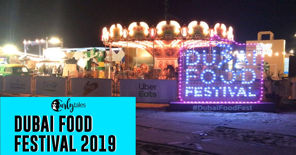 Dubai Food Festival 2019 Facebook Thumbnail Curlytales