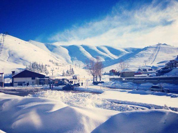 Credits: Mzaar Ski Resort, Lebanon Facebook