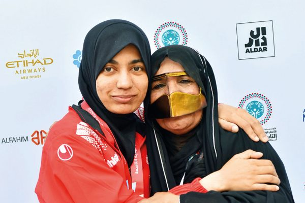 Credits: Special Olympics World Games Abu Dhabi 2019 Twitter