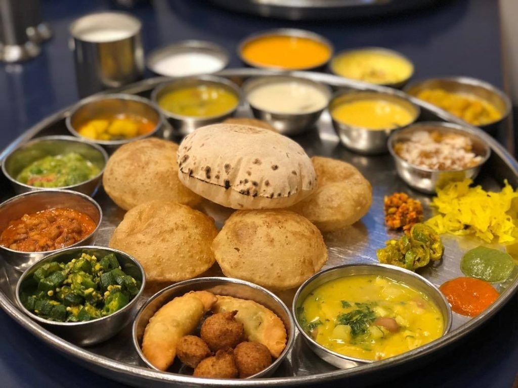 Gujarati Food At Shree Thaker Bhojanalay
