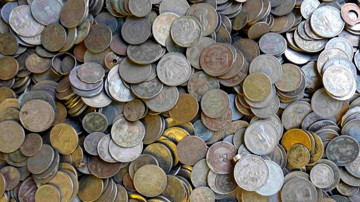 coins, india, government
