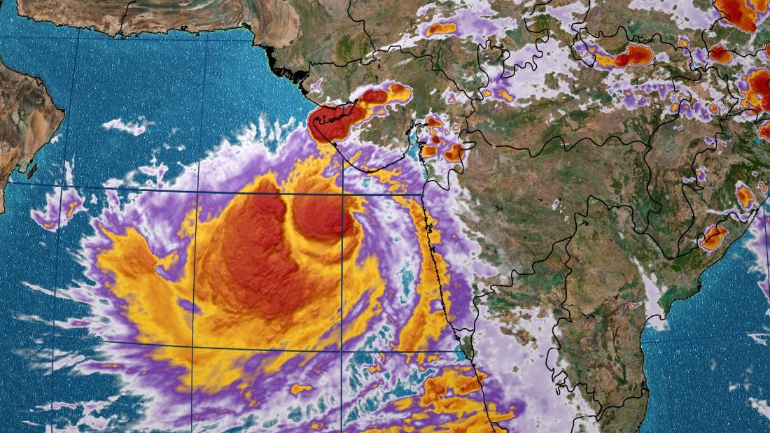 Cyclone Vayu Changes Course, Will Not Be Hitting Gujarat Says IMD