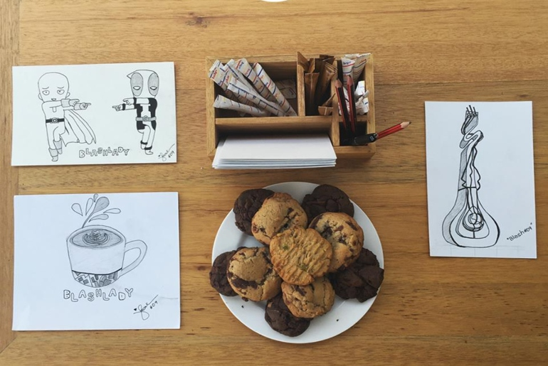 Sketch Art Cafe Offers Art, Coffee & More In A therapeutic Setting