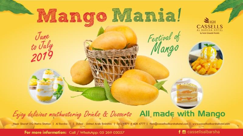Mango Lovers, This Dubai Restaurant Has A Delicious Mango Mania Menu