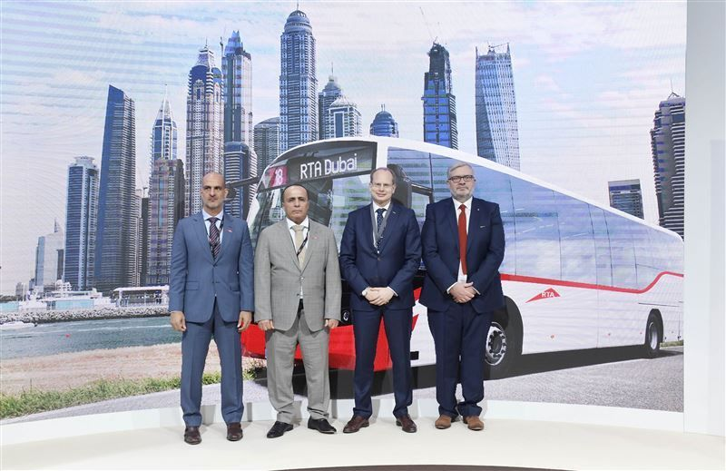 Dubai To Get Hundreds Of New Buses With Luxury Seats And WiFi