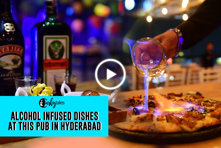 Amnesia In Hyderabad Is Serving Alcohol Infused Savoury & Sweet Dishes