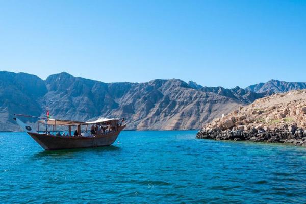 Dhow cruise in Musandam in Oman