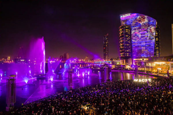 Imagine Show at Dubai Festival City