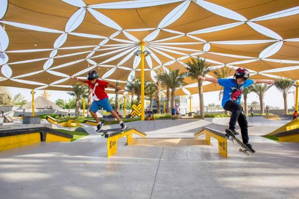 XDubai Skatepark at Kite Beach