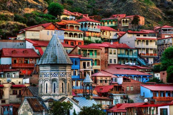 Visit Tbilisi in Georgia from Dubai