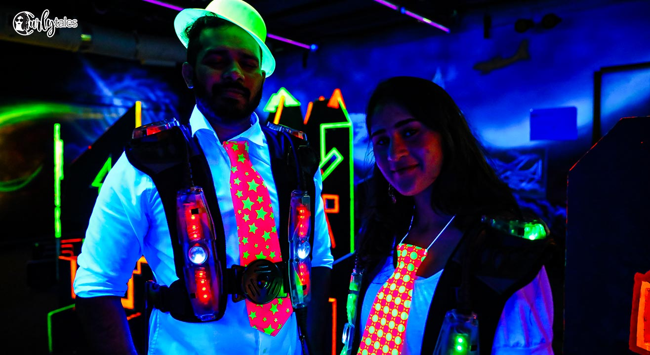 Mumbai's Biggest Trampoline Neon Party By Curly Tales At Smaaash In Lower Parel