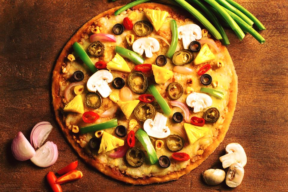 best pizza places in bangalore, as on fire