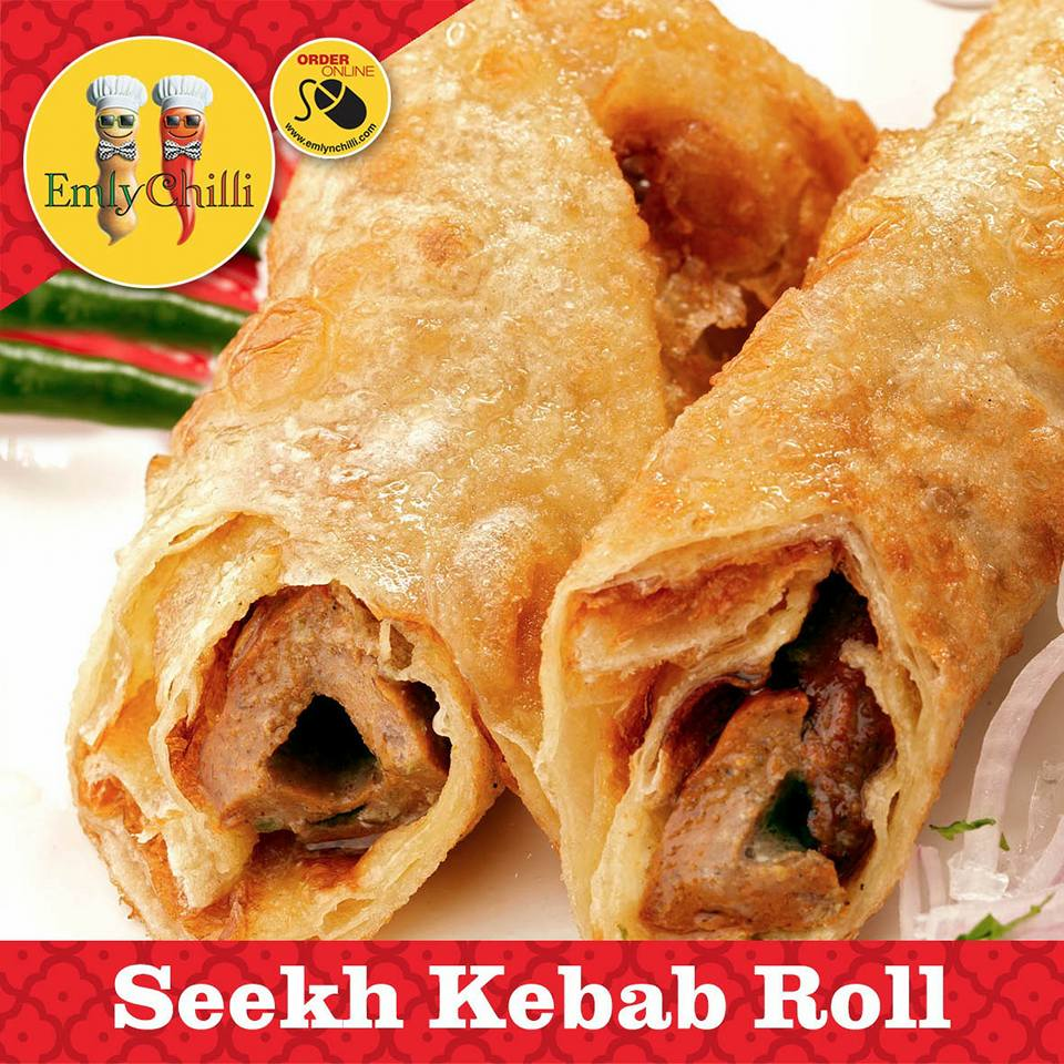 Seekh Kebab Roll