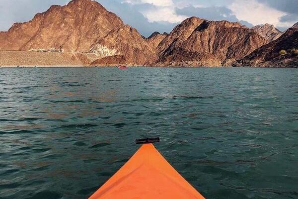 kayaking - date in dubai