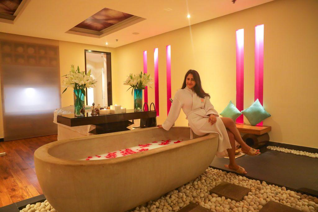 vinotherapy at the quan spa in jw mariott