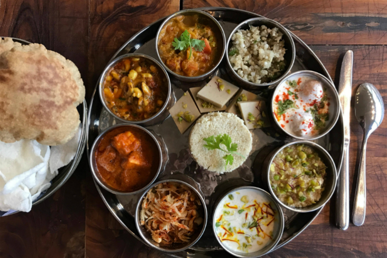best places for Navratri thalis