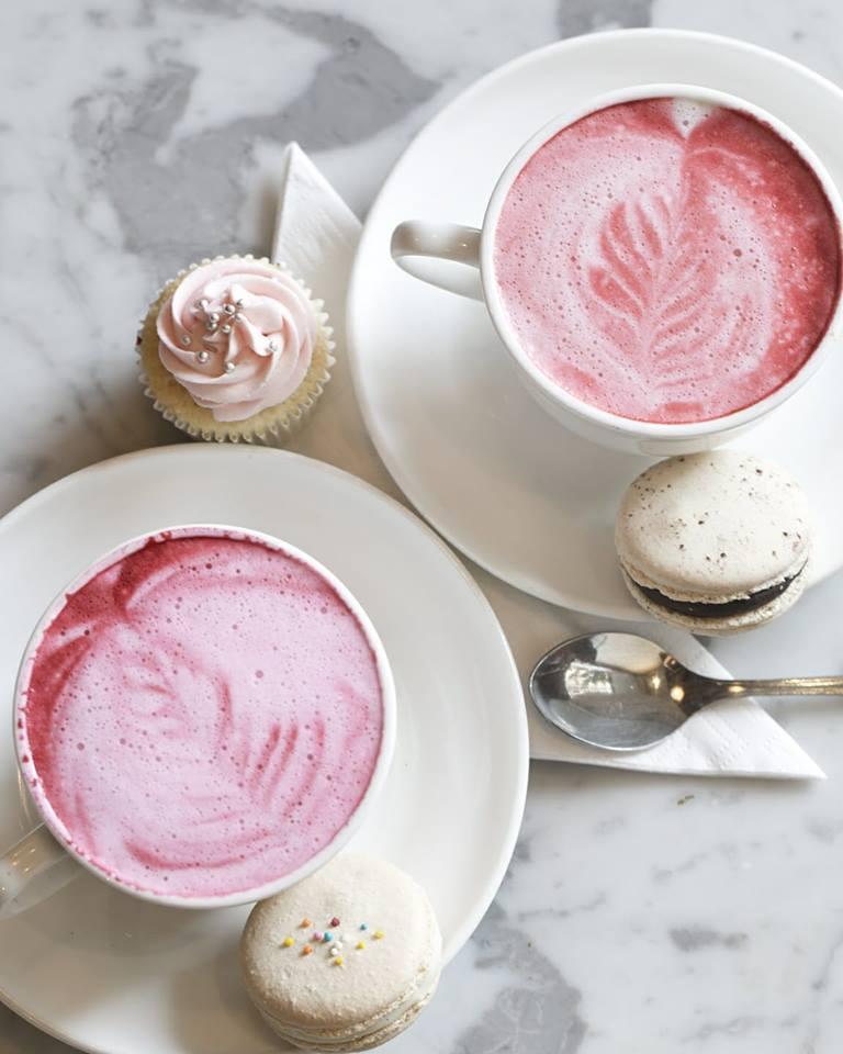 Pink Latte Unique Coffee