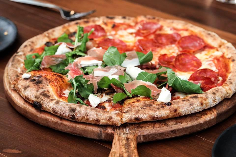 best pizza places in bangalore, brik oven