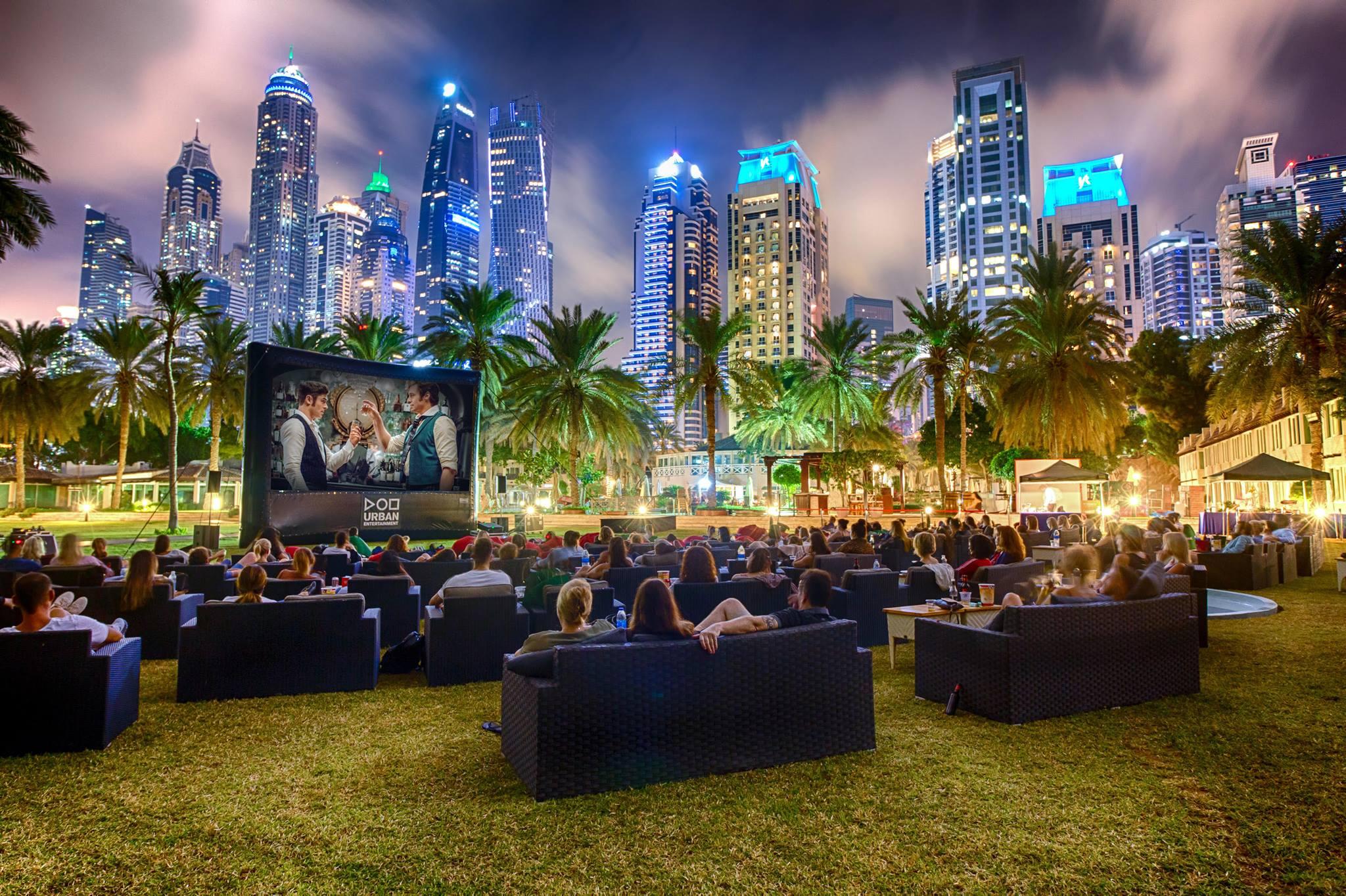 Urban Outdoor Cinema Is Coming To Dubai Marina This October