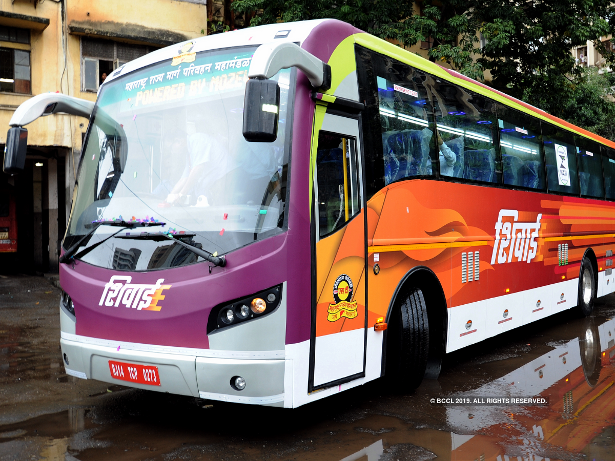 Maharashtra's First Electric Bus