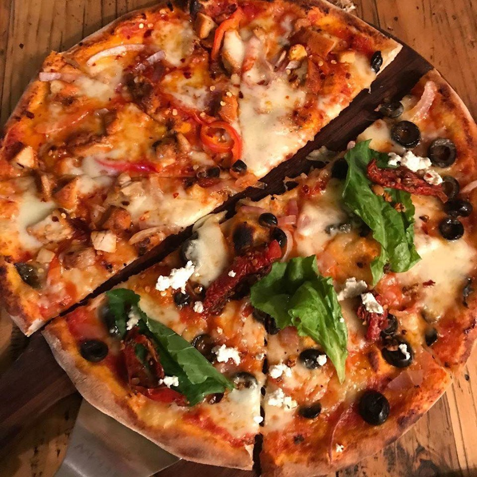 best pizza places in bangalore, stoked