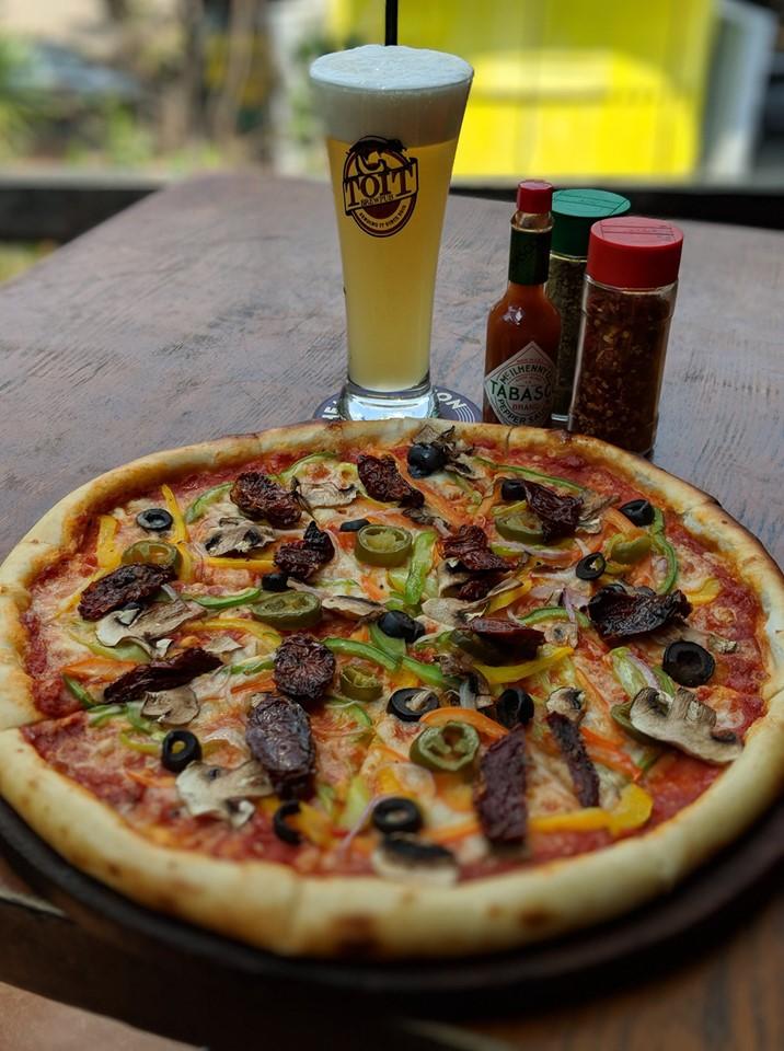 best pizza places in bangalore, toit