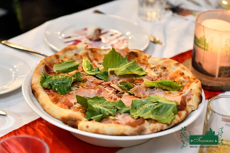 best pizza places in bangalore, toscano