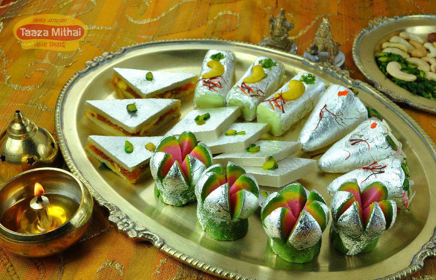 best sweet shops in bangalore, taaza mithai