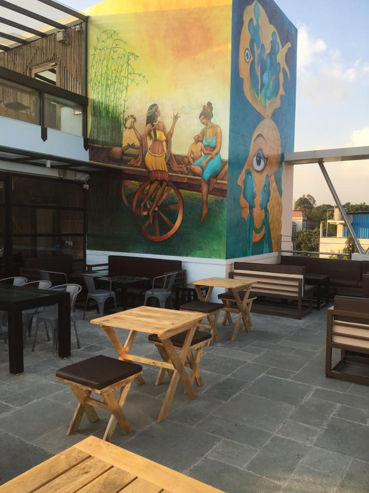 karwa chauth post vrat restaurants in bangalore, once upon a rooftop