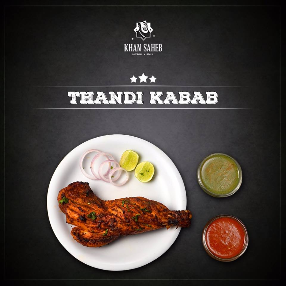 best kebab places in bangalore, khan saheb grills & rolls