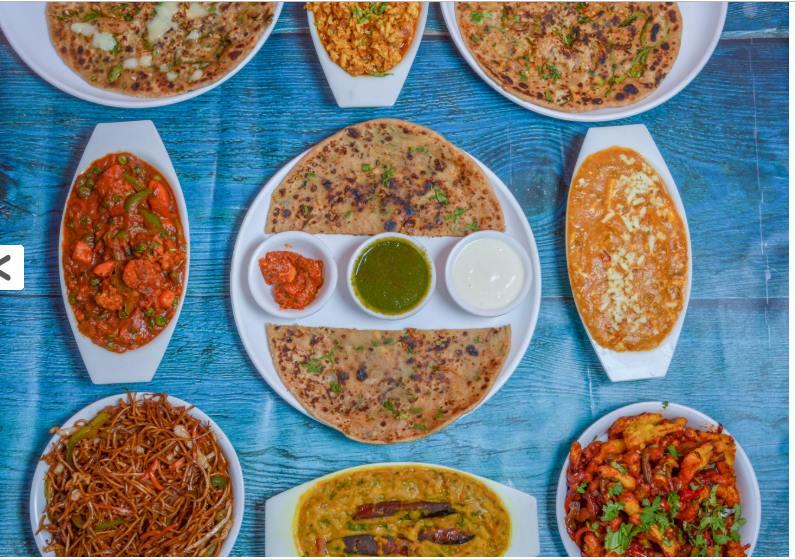 best paratha places in bangalore, paratha plaza