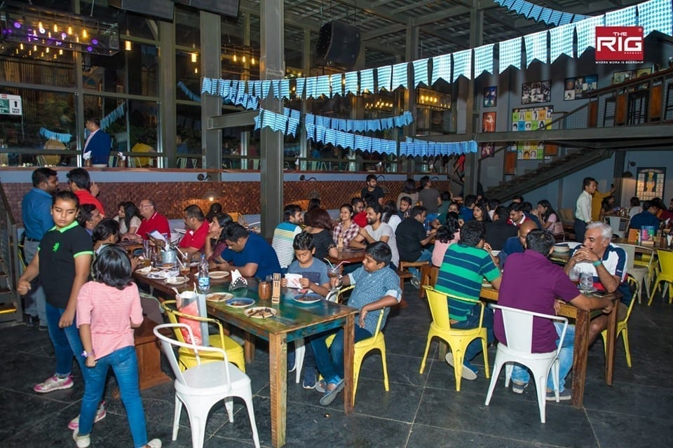 best disabled friendly restaurants in bangalore, the rig