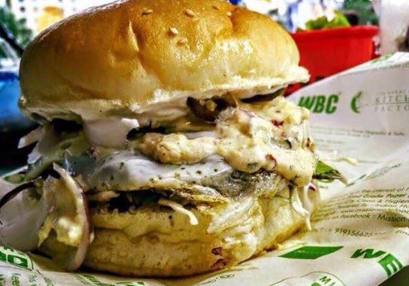 Burger At Burgertron
