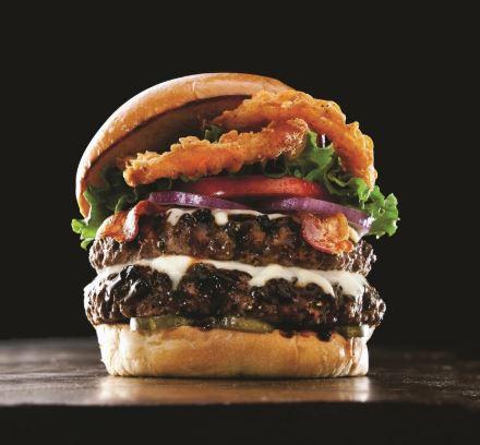 Burger At TGI Friday
