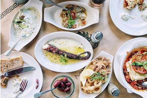 Greek restaurant in Dubai