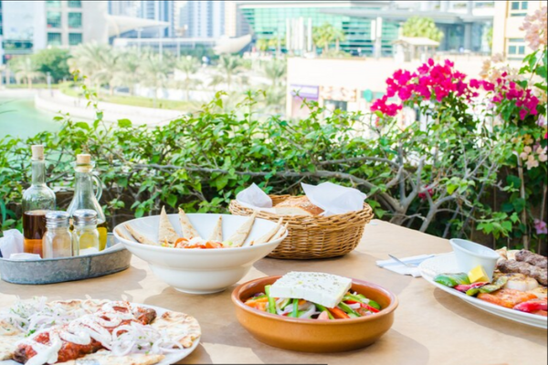 Mediterranean restaurants in Dubai