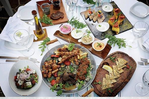 Greek retreat restaurant in old dubai