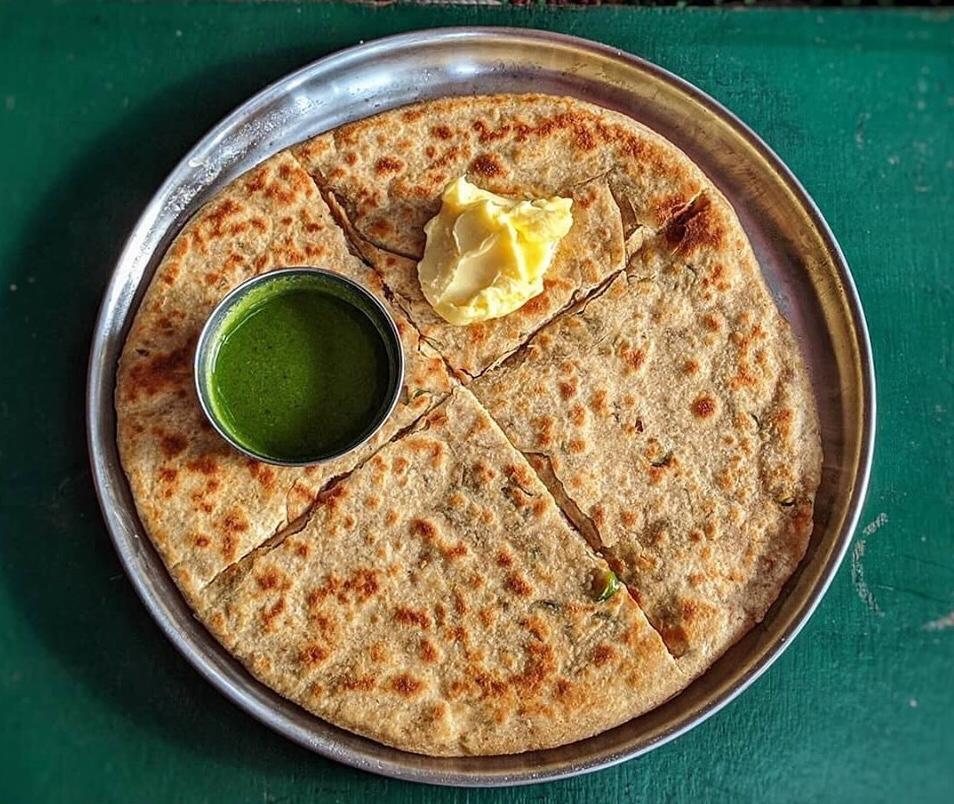best paratha places in bangalore, kapoor's cafe