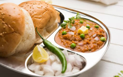best pav bhaji places in bangalore, goli vada pav