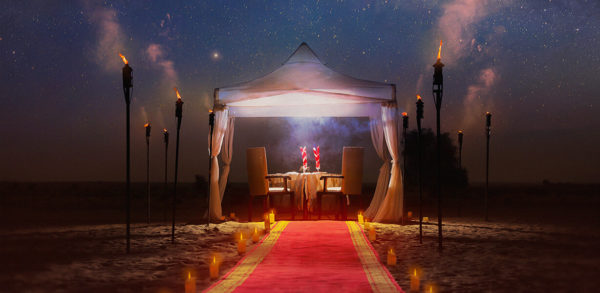 Romantic Package at Bab Al Shams Resort & Spa