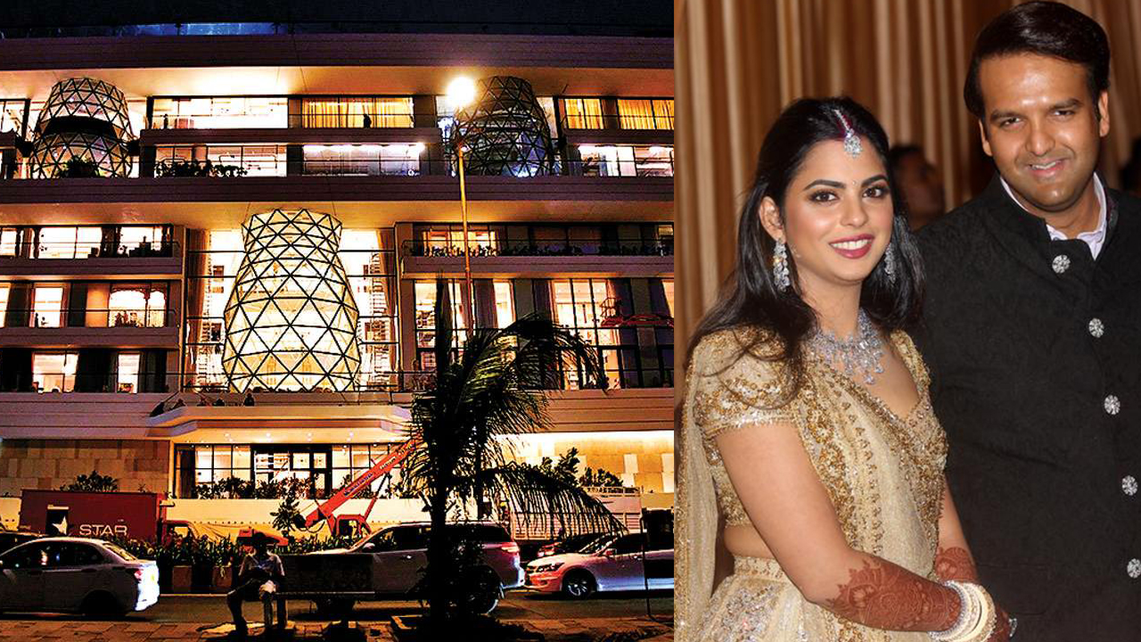 Isha Ambani And Anand Piramal's House Costs A Whooping ₹450Cr And Our Mind  Is Blown