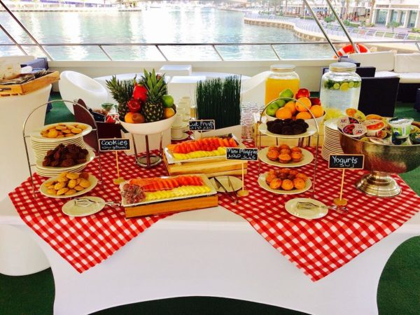 Food at cruise
